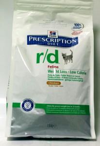 Hills Prescription Diet Feline R/D Weight Loss