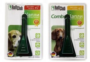 Rolf Club Капли для Собак от Блох и Клещей